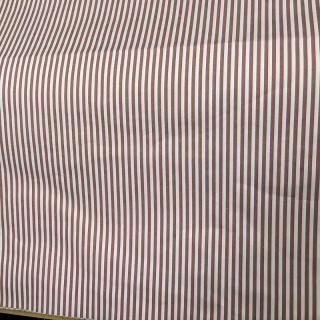 Coupon coton Anne de Solène rayé
