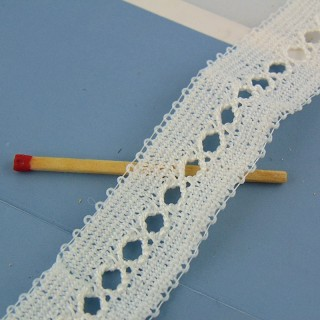 Sintética del cordón agujeros de 3 cm por metro
