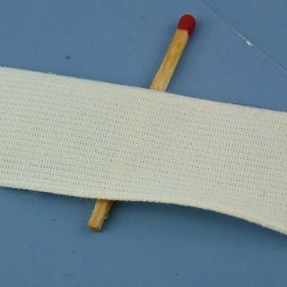 Ruban coton 16 mm,