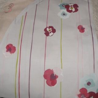 Coupon coton DMC  fleurs