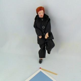 Poupée miniature homme 1/12 15 cm