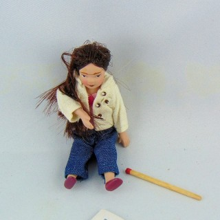 1/12th miniature Lady doll