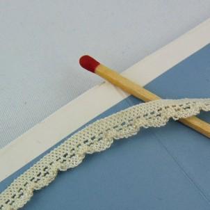 Cordón elástico algodón 7 mm, por metro