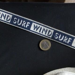 Streifen Baumwolle Serge Mini Riemen 24 mm