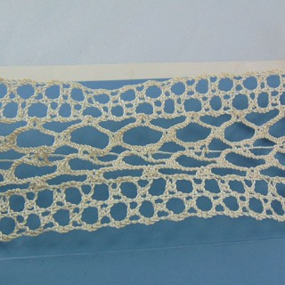Lace thin synthetic 45 mm to pucker