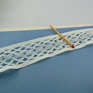 Vintage Elastic lace ribbon 35 mms
