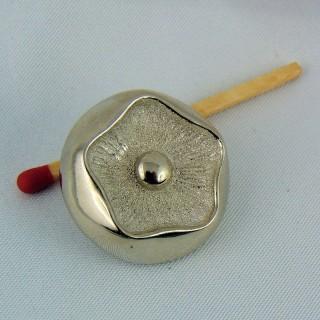 Botón de alta costura a pie 2.5 cm.