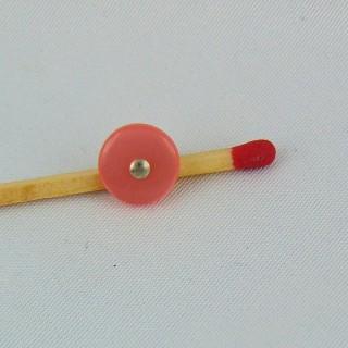 Arranque de botón en el pie de metal de 1 cm.