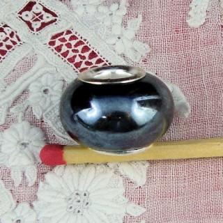 Pandora estilo perla agujero grande 17 mm