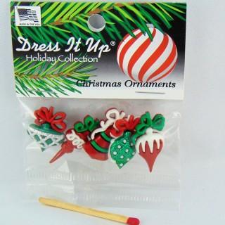 Boutons décoration de Noël Dress it up