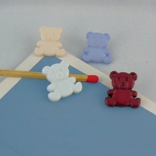 Botón fantasía oso 15 mm