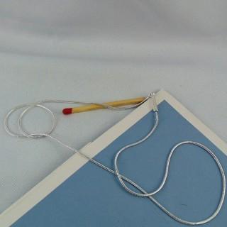 Kette mit Add-a-Perle leicht klapft 45 cm