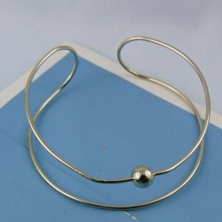 Forma de Metal brazalete rigido