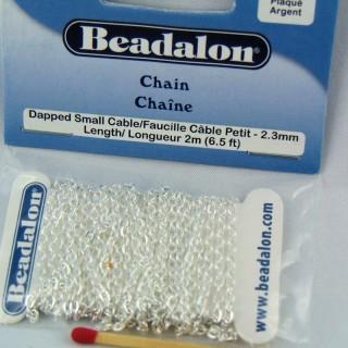 Schmuckkette 2 mm Beadalon