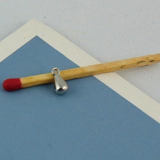 Pendentif bijou pour poupée 4 mm