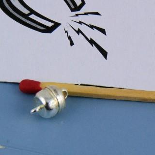 Zweiteiliger Magnetverschluss 1 cm