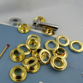 8 mms Eyelet fastener hammer tool.