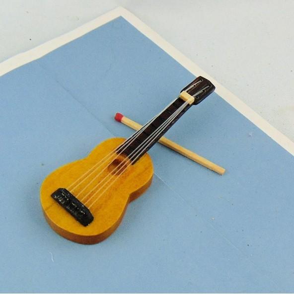 Guitare Instrument musique miniatures poupée