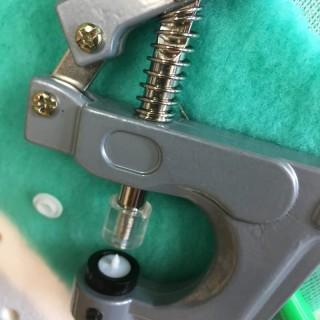 Pressure-set pinch to crimp 3 sizes