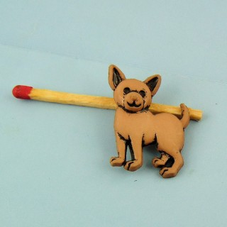 Pudel Hund Knopf, chihuahua.