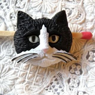 Botón de cabeza de gato de lujo