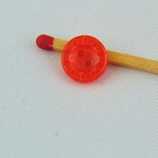 Kleiner Knopf graviert 1 cm