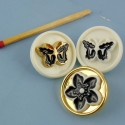 Lot of haute couture style buttons