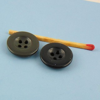 Jean button 4 holes 18 mm