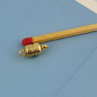 Cierre magnetizado de dos partes con anillo