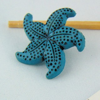 Sea star button 3 cm