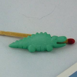 Crocodile Sea Animal Button 35 mm