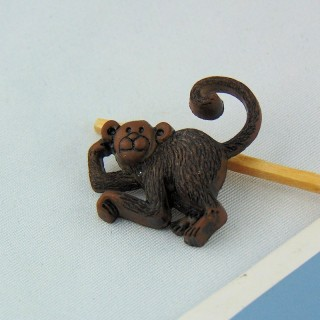Botón de animales de la selva, zoológico, ELEPHANT, 25 mm.