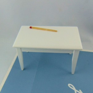 Miniature doll house kitchen table
