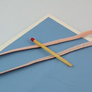 5 mm elastisches Paillettenband