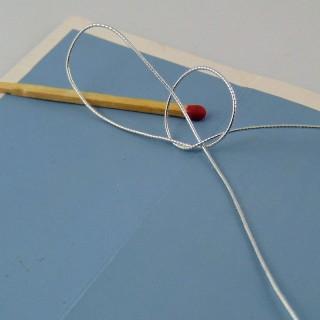 Elastic cord 1 mm.