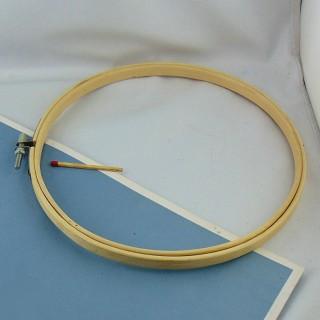 Círculo de marco para bordar para decorar 19 cm