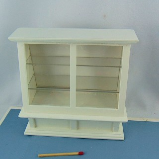 Miniature store display case 1/12
