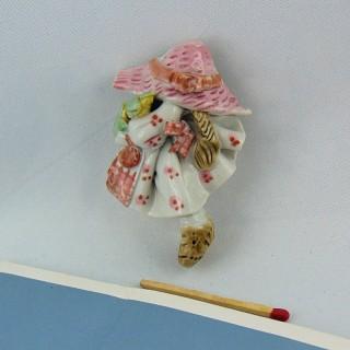 Figurine magnet décoration 7 cm