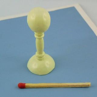 Vitrina Sombrero miniatura casa muñeca 5 cm