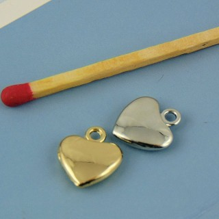 12 mm jewel jewel heart pendant
