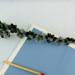 Galon chenille épais 1 cm