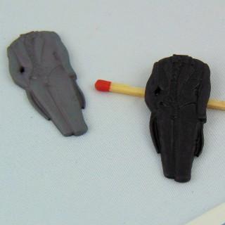 Botones COUTURE: decoración de esmoquin, vestido de noche, 4.3cm.