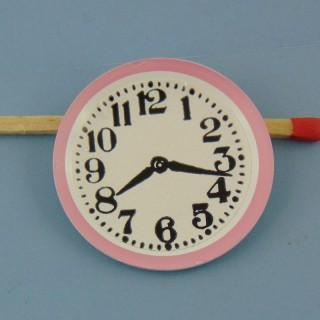 Pendule miniature rrose 3 cm