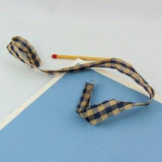 Attache en Ruban coton 1 cm de large 28 cm
