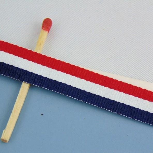 Grosgrain fancy striped ribbon 1 cm.