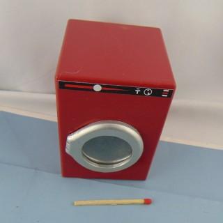 Machine à laver miniature poupée 1/12 eme 9 cm