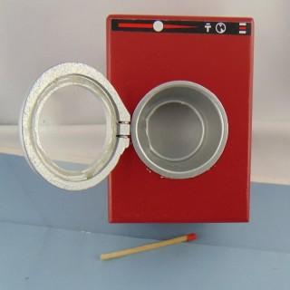 Muñeca de lavadora en miniatura 1/12 eme 9 cm