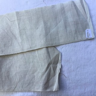 Linen strip to embroider wide 12 cm