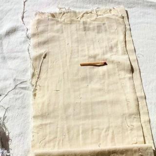 Bande de coton ancien grande largeur 38 cm