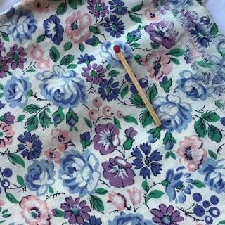 Tissu coton petites fleurs au mètre